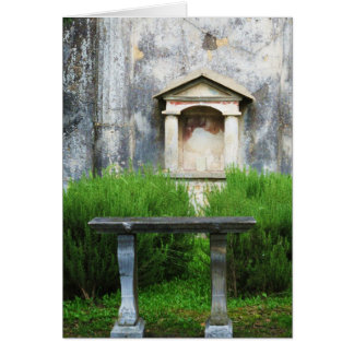House of the Small Pagan Fountain Card