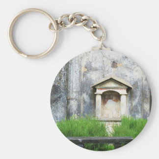 House of the Small Pagan Fountain Key Ring