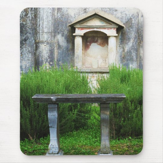 House of the Small Pagan Fountain Mouse Mat