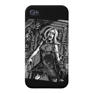House of Zombies iPhone 4 Cases