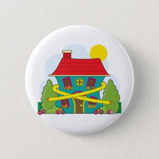 House on Diet 6 Cm Round Badge