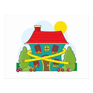House on Diet Postcard