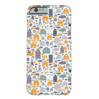 House Pattern Barely There iPhone 6 Case