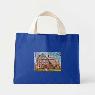 House - Pink Majestic Tote Bags