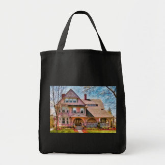 House - Pink Majestic Grocery Tote Bag