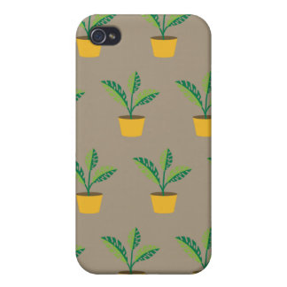 house plant brown covers for iPhone 4