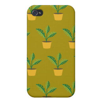 house plant spinach green iPhone 4/4S covers