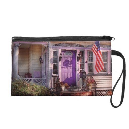 House - Porch - Cranford, NJ - Lovely in Lavender Wristlets