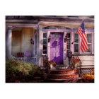 House - Porch - Cranford, NJ - Lovely in Lavender Postcard