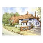 House portrait Oak Ryse House Post Card