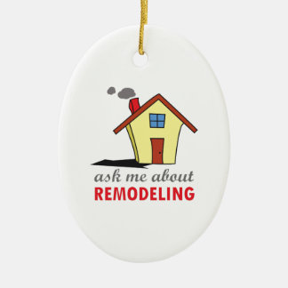 HOUSE REMODELING CHRISTMAS ORNAMENT