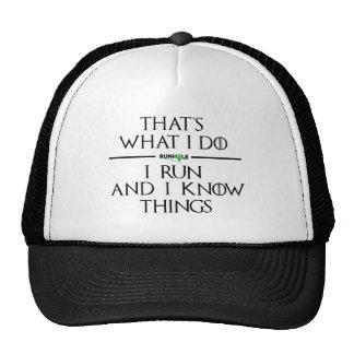 House Runhole Trucker Hat