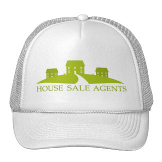 house-sale-or-construction-logo1 mesh hat