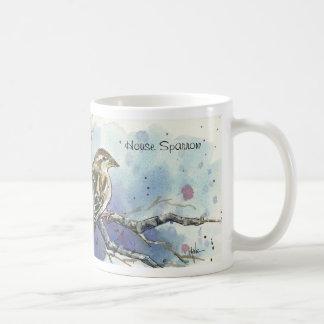 House Sparrow Bird Mug