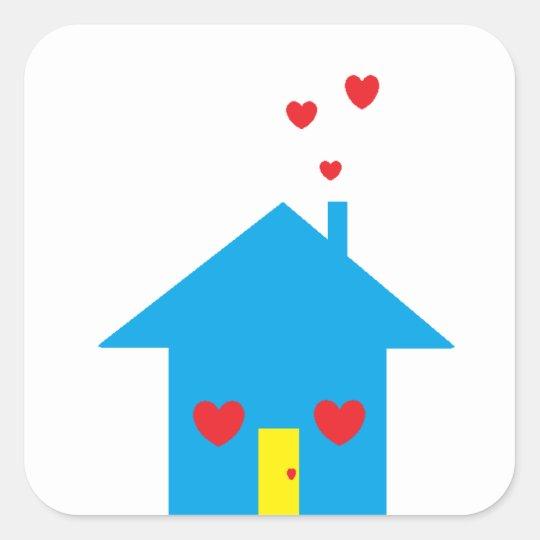 """""""House"""" Sticker"""