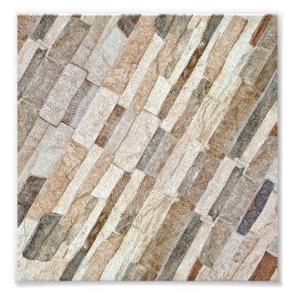 House Stone Wall Pattern Photo Art