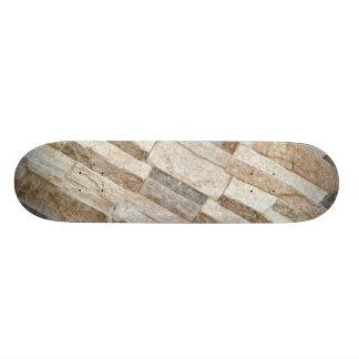 House Stone Wall Pattern Skate Deck