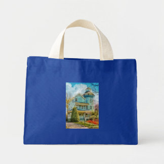 House - The lookout Tote Bags
