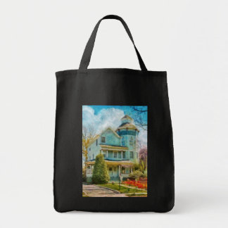 House - The lookout Grocery Tote Bag