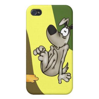 House-training A Cartoon Dog iPhone 4 Cover