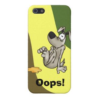 House-training A Cartoon Dog iPhone 5 Covers