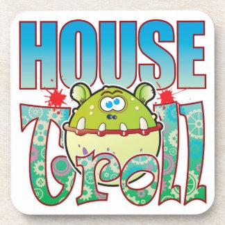 House Troll Beverage Coaster