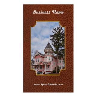 House - Victorian - Flemington, NJ - The Pink Lady Business Card Templates