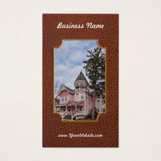 House - Victorian - Flemington, NJ - The Pink Lady Business Card