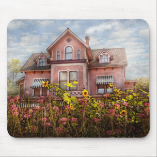 House - Victorian - Summer Cottage  Mouse Pad
