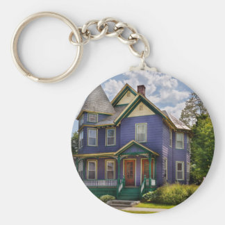 House - Victorian - The old ladies house Keychain