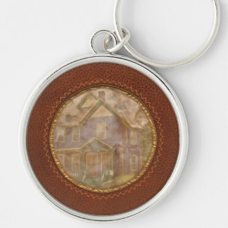 House - Victorian - The old ladies house Key Chains