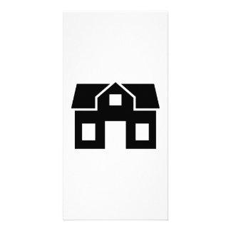 House villa customised photo card