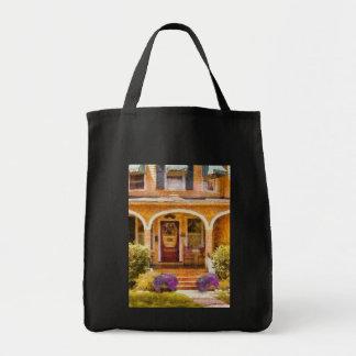 House - Visiting Grandma Canvas Bag