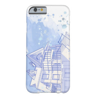 house: watercolor draw barely there iPhone 6 case