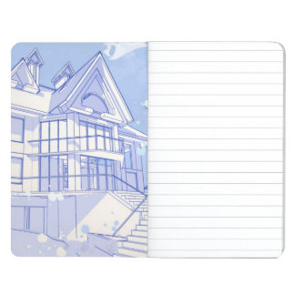 house: watercolor draw journals