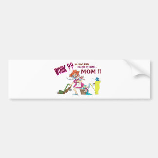 House Wife Bumper Sticker