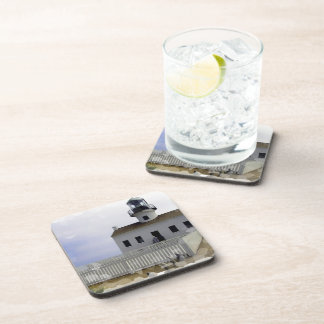 House with Lighthouse Cork Coasters