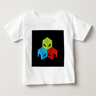House with puzzle roof t shirt