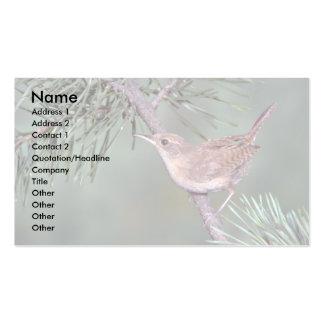 House Wren Business Card Templates