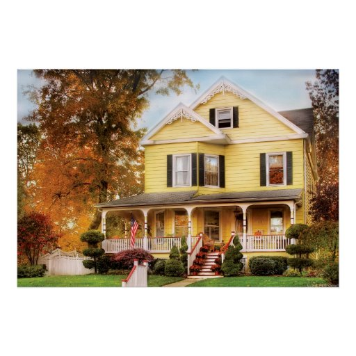 House - Yellow Lace -  Dream House Poster