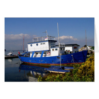 Houseboat in the Isle of Wight Greeting Card
