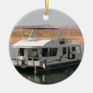 Houseboat, Lake Powell, Arizona, USA 5 Christmas Ornament