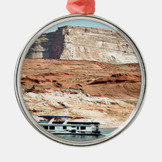 Houseboat, Lake Powell, Arizona, USA 7 Christmas Ornament
