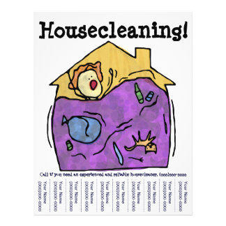 Housecleaning Flyer