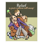 Housecleaning service advertising promo card 4x5