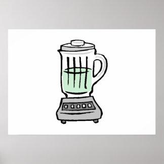 Household Blender Print