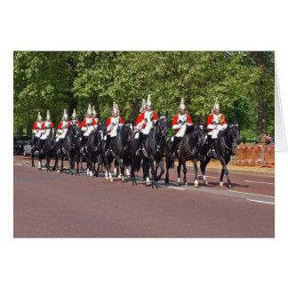 Household Cavalry Card