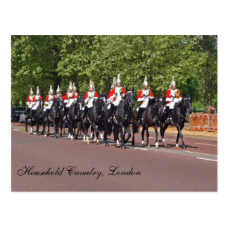 Household Cavalry Postcard