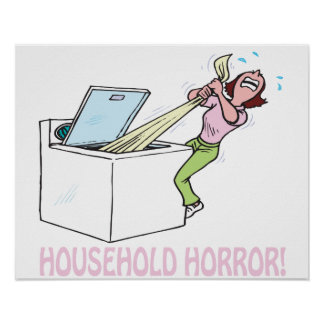 Household Horror Print