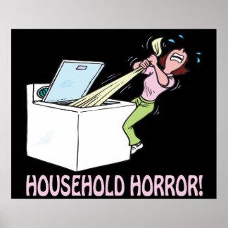 Household Horror Posters